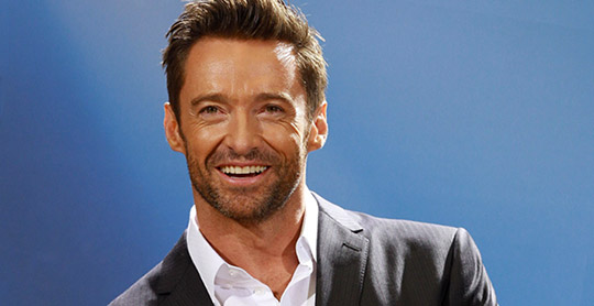 Hugh Jackman talks about TM